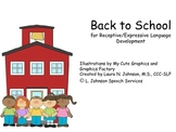 Back to School for Receptive/Expressive Language