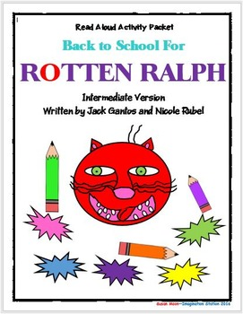 Back to School for Rotten Ralph Intermediate Activity Packet