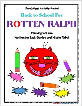 Back to School for Rotten Ralph Primary Activity Packet