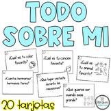 Back to School in Spanish - Todo sobre mi - Primer dia de clases