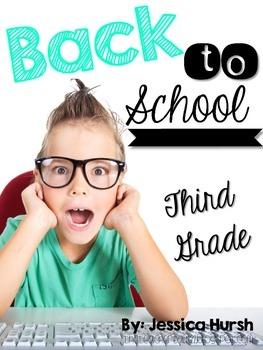 Back to School Third Grade