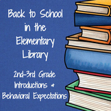 Back to School in the Elementary Library (2-3)