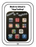 "Back to School is ""App""ealing"