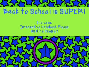 Back to School is SUPER