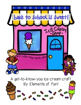 Back to School is Sweet! A fun beginning of the school year craft.
