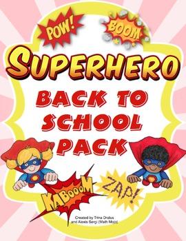 Back to School - Superhero 2.0