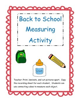 Back to School Measuring Station