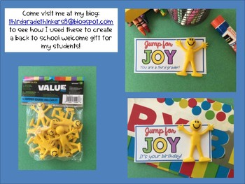 Back to School or Birthday Gift or Treat Idea