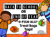 Back to School or End of Year Treat Bag Tags
