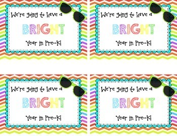 Back to School or Meet the Teacher Gift Tags