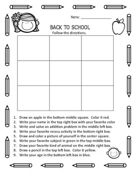 Back to School large packet word search ABC order puzzle scrambled words