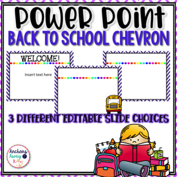 Back to School power point chevron