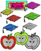 Back to School set 1 on Notebook Paper for Personal or Commercial Use