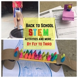 Back to School (stem challenges, graphing, writing craftiv