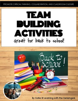 Back to School: team building activities