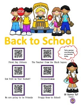 Back to School using QR Codes