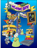 Back to School Clip Art for Back to School Activities
