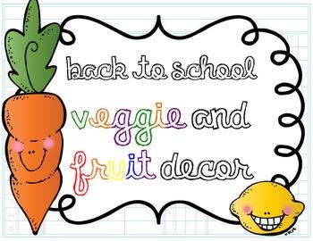 Back to School {veggie, veggie, fruit, fruit style}
