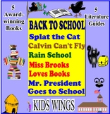 BACK TO SCHOOL with 5 Picture Books including Calvin Can't Fly and Rain School