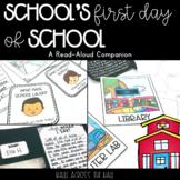 """Back to School Activities """"School's First Day of School"""""""