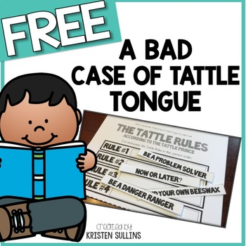 book study a bad case of tattle tongue by kristen sullins tpt. Black Bedroom Furniture Sets. Home Design Ideas