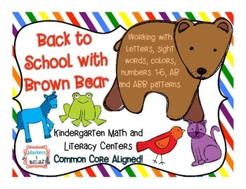 Back to School with Brown Bear