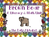 Back to School with Brown Bear: Literacy & Math Activities