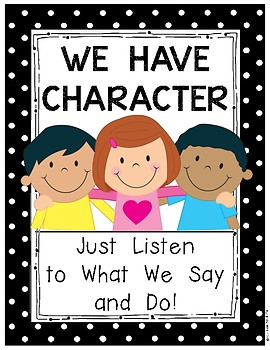 Back to School Character Posters for Kindergarten and First Grade