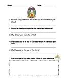 Back to School with Chrysanthemum Story Retelling Worksheet