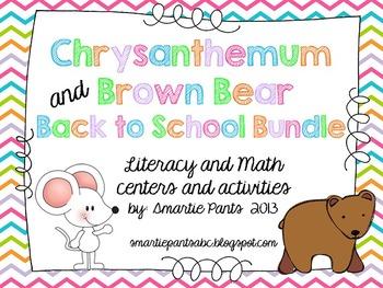 Chrysanthemum and Brown Bear Back to School