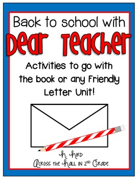 Back to School Friendly Letter Unit