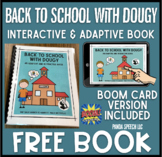 Back to School with Dougy: An Interactive and Adaptive Boo