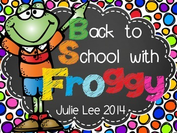 Back to School with Froggy