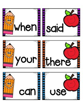 Back to School with Fry Words!