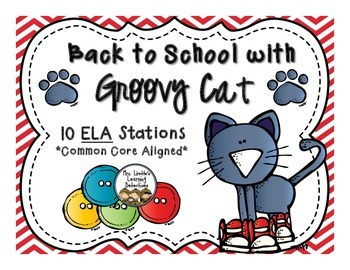 Back to School with Groovy Cat {10 ELA Stations}