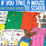 Back to School with If you Take a Mouse to School | Distan