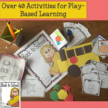 Back to School with Letters, Number, Shapes and Colors