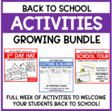 Pete the Cat - Back to School GROWING BUNDLE!