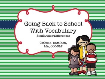 Back to School with Similarities and Differences