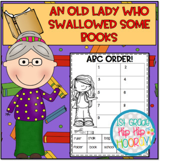 Activities and Craft with The Old Lady Who Swallowed Some Books!