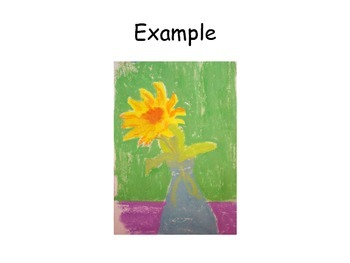 Sunflowers and Vincent van Gogh art projects