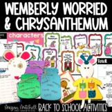 Back to School with Wemberly Worried and Chrysanthemum