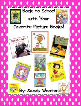 Back to School with Your Favorite 1st and 2nd Grade Picture Books!