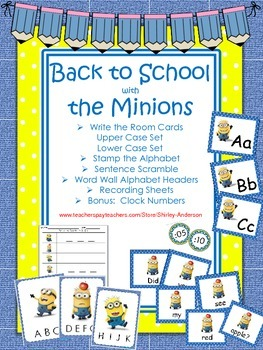 Back to School with the Minions
