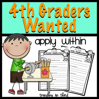 Back to School:Fourth Graders Wanted