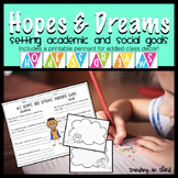 Back to School:Hopes and Dreams {Goal Setting}