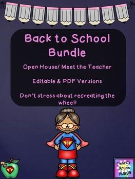 Back to School/Open House Bundle