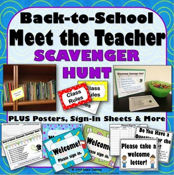 Meet the Teacher Scavenger Hunt (Open House)