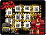 Back to School~QR Codes/Hyperlinks~Scan/CLICK for Listening Center with a Twist!