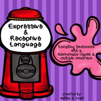 Expressive Language: Complex Sentences
